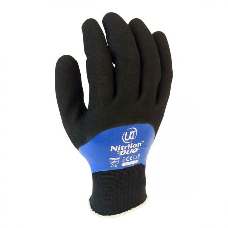 Nitrile Duo Glove Wth Foam Coating