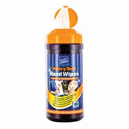 Nice n Clean Anti-Bacterial Heavy Duty hand Wipes x100
