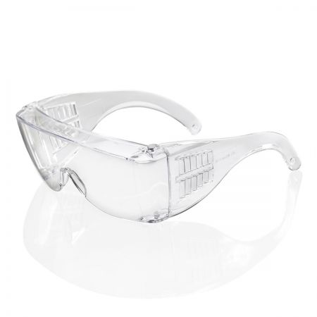 Safety glasses. Clear overspec