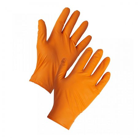 Diamond Grip Glove ORANGE