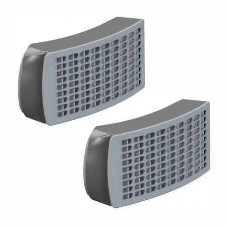 JSP® Powercap Infinity Replacement P3 Filters (Pair)