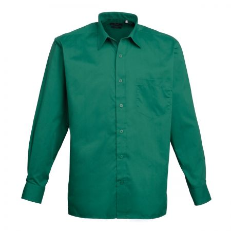 Premier PR200 Long Sleeve Poplin Shirt