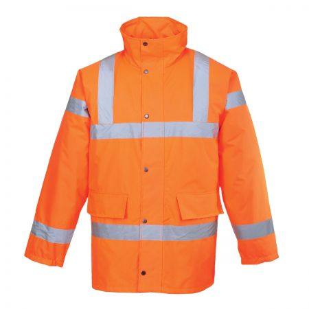 Hi-Viz Padded Parka ORANGE