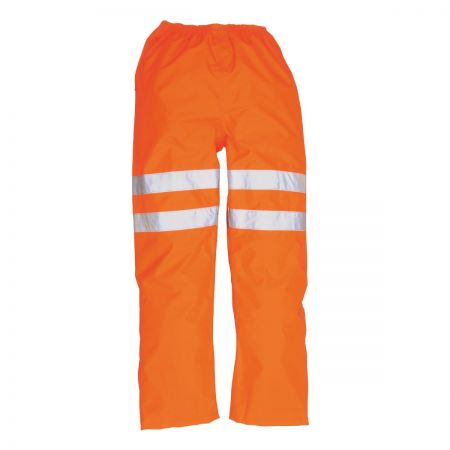 Portwest RT31 Orange Hi-Vis Wet Weather Trousers