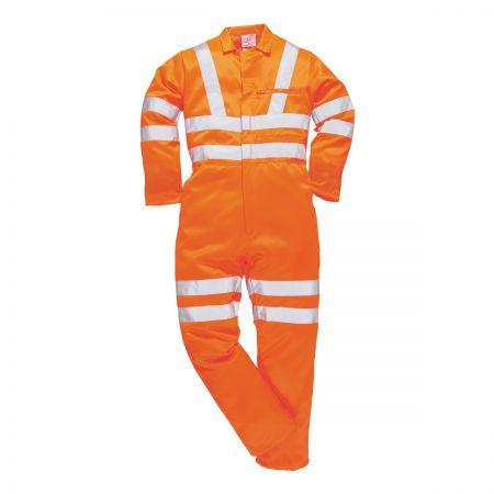 Portwest RT42 Railtrack Orange Boilersuit
