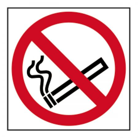 No Smoking Sign Vinyl