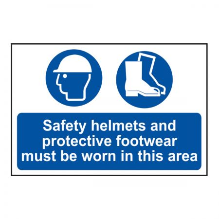 Safety Helmets & Protective Footwear (600mm x