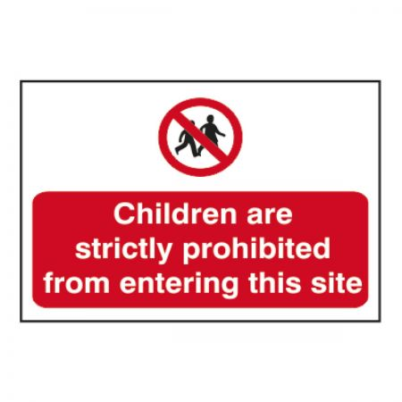 Children are Strictly Prohibited (600 x 400m)