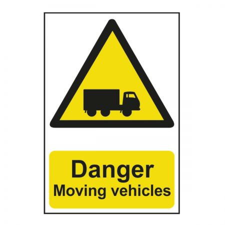 Danger Moving Vehicles (600mm x 400mm)