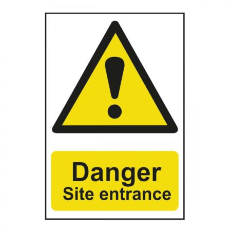 Danger Site Entrance (600mm x 400mm)