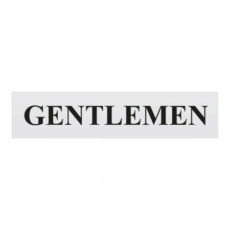 Gentlemen 220 x 60mm