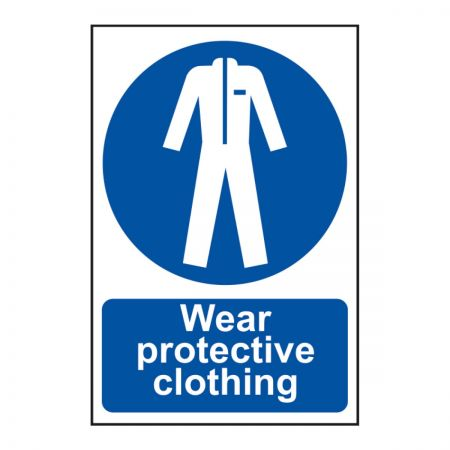 Wear Protective Clothing 200 x 300mm