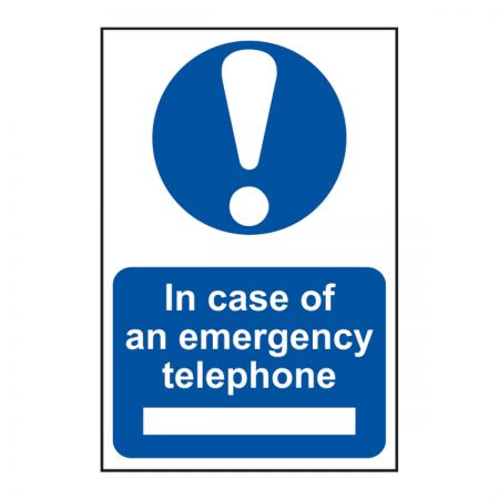 In Case of Emergency Telephone 200 x 300mm