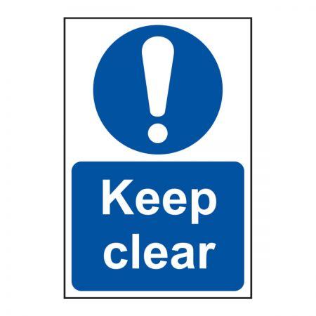 Keep Clear 200 x 300mm