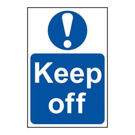 Keep Off 200 x 300mm