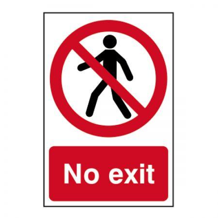 No Exit 200 x 300mm