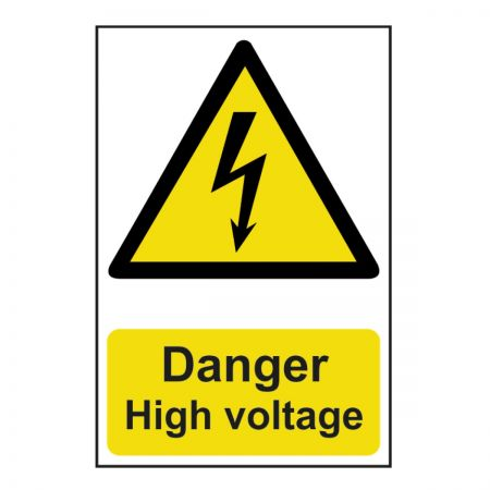 Danger High Voltage 200 x 300mm