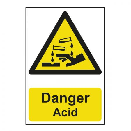 Danger Acid 200 x 300mm
