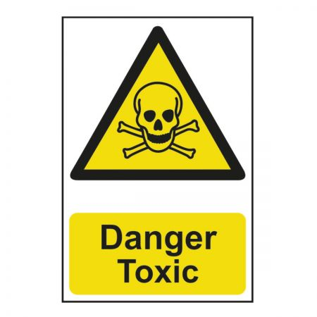 Danger Toxic 200 x 300mm