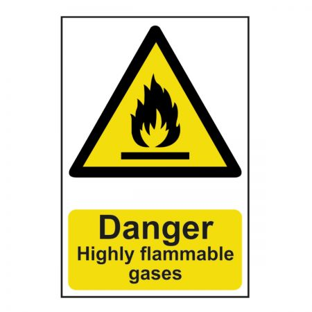 Danger Flammable Gases 200 x 300mm