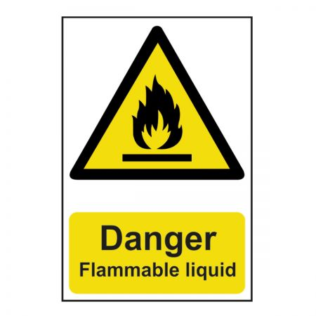 Danger Flammable Liquid 200 x 300mm