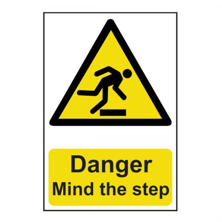 Danger Mind the Step 200 x 300mm