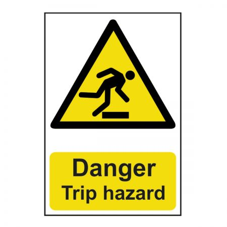 Danger Trip Hazard 200 x 300mm