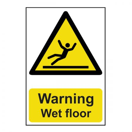 Warning Wet Floor 200 x 300mm