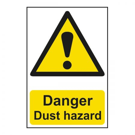 Danger Dust Hazard 200 x 300mm