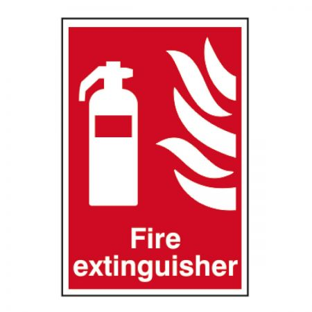 Fire Extinguisher 200 x 300mm