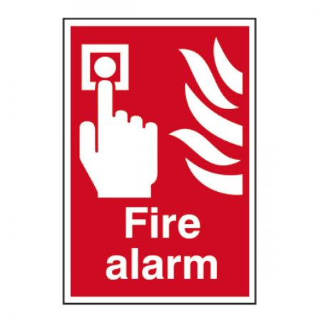 Fire Alarm 200 x 300mm