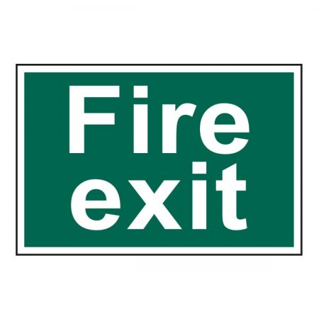 Fire Exit 200 x 300mm