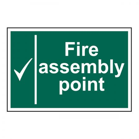 Fire Assembly Point 200 x 300mm