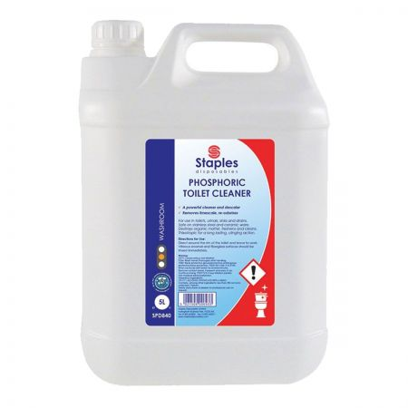Stainless Steel Toilet Cleaner 2 x 5 Litres