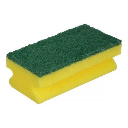 Sponge with Scourer x 10