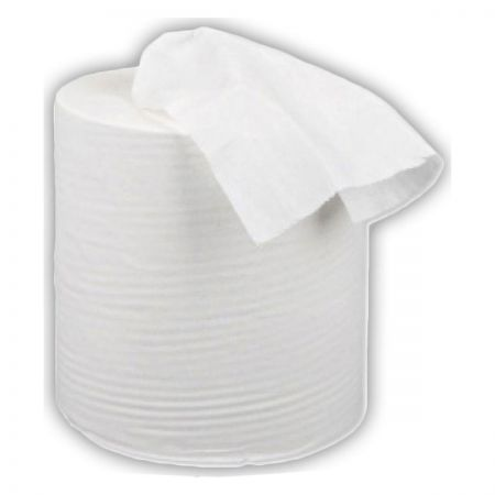 Centrefeed white 2 ply (6 rolls)