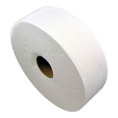 Jumbo 2 ply toilet roll 3 core (6 rolls)