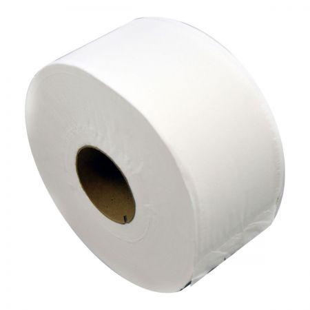 Mini Jumbo 2 ply Toilet roll. 12 Per Case.