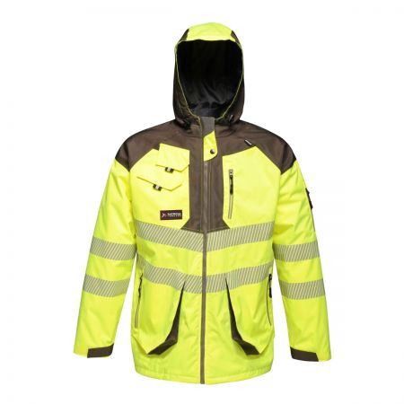 Tactical Hi-vis Parka