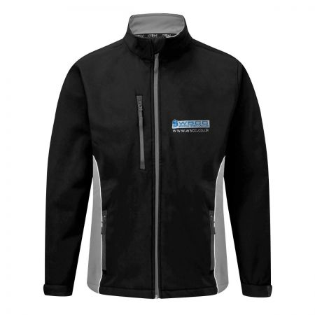 Two Tone Softshell with WSCC Logo
