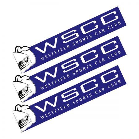 Westfield Sports Car Club Sticker Set