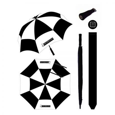 WSCC Umbrella with Two Logo's