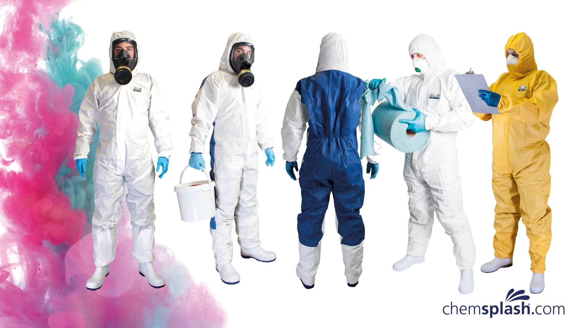 NEW: Chemsplash Disposable Clothing